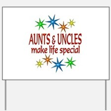 Special Aunt Uncle Yard Sign