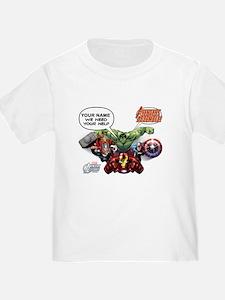 Avengers Assemble Personalized Des T