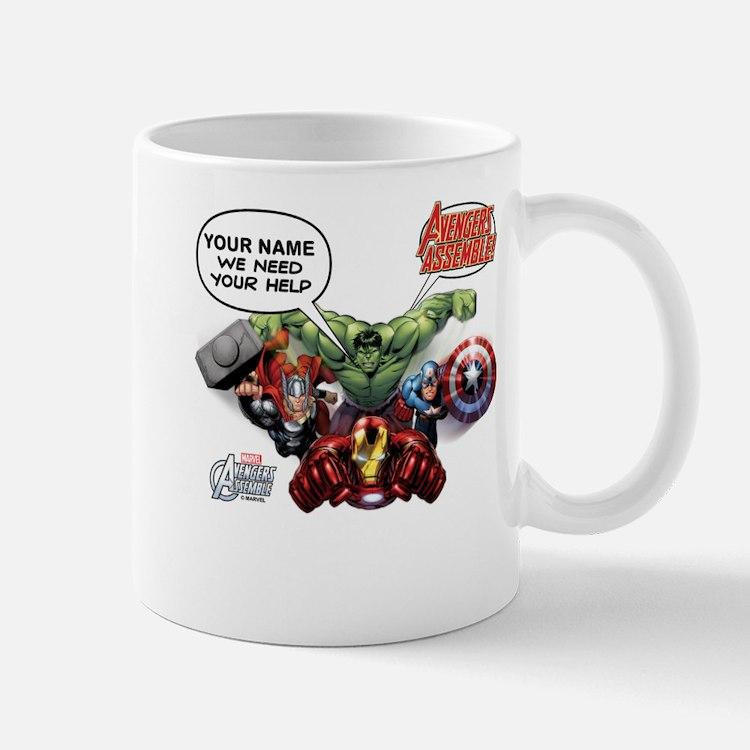 Avengers Assemble Personalized Design 1 Mug