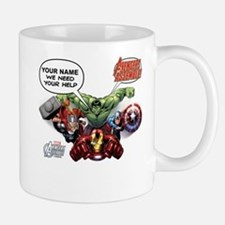 Avengers Assemble Personalized Design 1 Small Small Mug