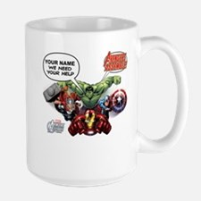 Avengers Assemble Personalized Design 1 Large Mug