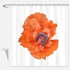 Oriental Poppy 01 Shower Curtain