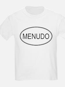 MENUDO (oval) T-Shirt