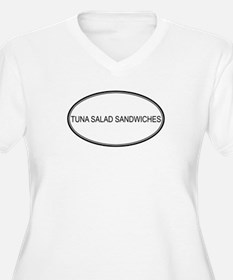 TUNA SALAD SANDWICHES (oval) T-Shirt