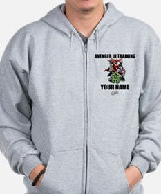 Avengers Assemble Personalized Design 2 Zip Hoodie