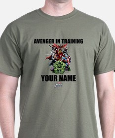Avengers Assemble Personalized Design T-Shirt