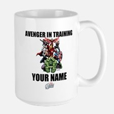 Avengers Assemble Personalized Design 2 Large Mug