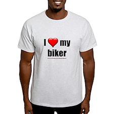 """I Love My Biker"" T-Shirt"