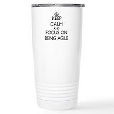 Cute I heart agility Travel Mug