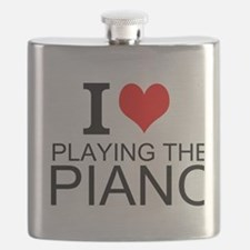 I Love Playing The Piano Flask