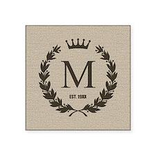Custom Initial Logo Monogrammed Sticker