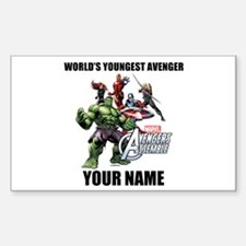 Avengers Assemble Personalized Decal