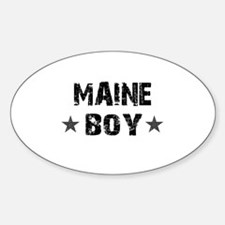 Maine Boy Decal