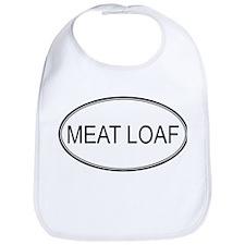 MEAT LOAF (oval) Bib
