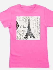 Vintage Eiffel Tower Girl's Tee