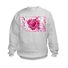 Cute Peace love curl Sweatshirt