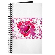 Cute Peace love curl Journal