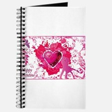 Unique Peace love curl Journal