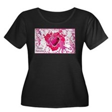 Love and Valentine Day Plus Size T-Shirt