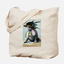 Suffragette Cat Tote Bag