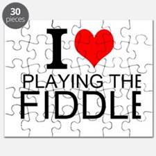 I Love Playing The Fiddle Puzzle
