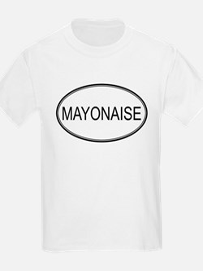 MAYONAISE (oval) T-Shirt