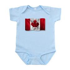 Canada Flag Body Suit