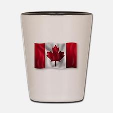 Cute American red cross Shot Glass