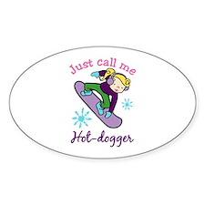 Snowboard Hot-dogger Decal