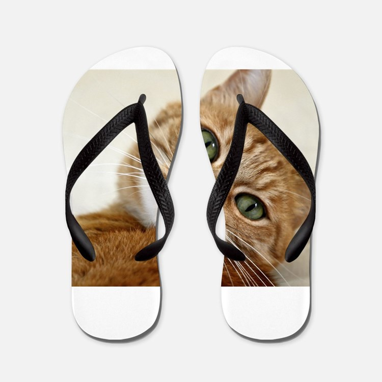Cute Portrait woman Flip Flops