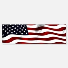 USA Flag Bumper Bumper Bumper Sticker