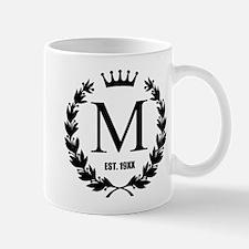 Custom Initial Logo Monogrammed Mugs