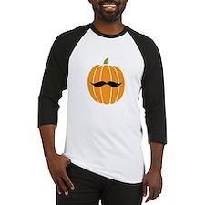Pumpkin Stache Baseball Jersey