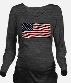 Cute Canada on board Long Sleeve Maternity T-Shirt