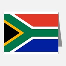 South Africa Flag Note Cards