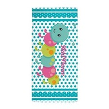 Polka Dots Bug Personalized Beach Towel