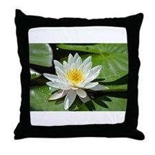 Unique Lotus massage Throw Pillow