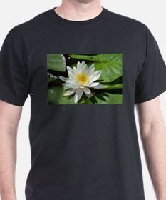 White Lotus Flower T-Shirt
