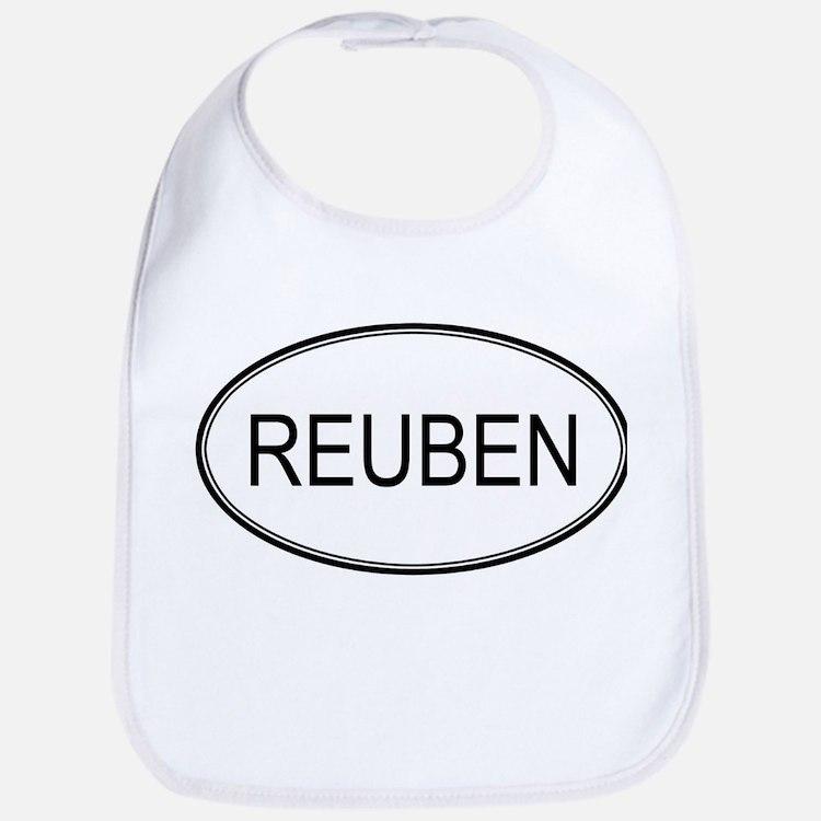 REUBEN (oval) Bib
