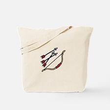 Bow Arrows Tote Bag