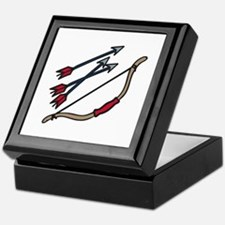 Bow Arrows Keepsake Box
