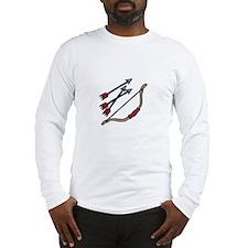 Bow Arrows Long Sleeve T-Shirt