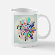 Abstract Color Wheel Mugs