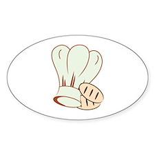 Baker Hat & Buns Decal