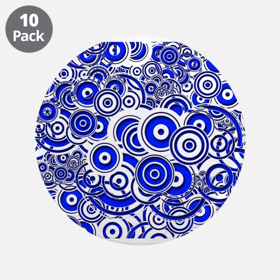 """Unique Creative romantic 3.5"""" Button (10 pack)"""