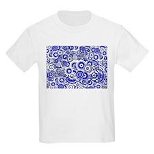 Blue Circle Art T-Shirt