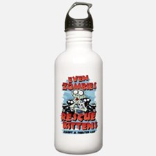 Even Zombies Rescue Ki Water Bottle