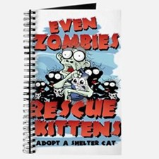 Even Zombies Rescue Kittens Journal