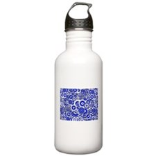 Cute Doodle kisses Water Bottle