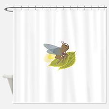 Lightning Bug Shower Curtain